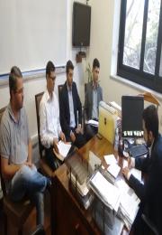 ASSOCIAÇÃO COMERCIAL participa de reunião na Casa da Defesa Civil.