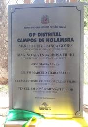 INAUGURAÇÃO DO GP DISTRITAL CAMPOS DE HOLAMBRA